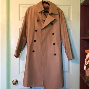 H&M Trench Coat Tan Size 36R